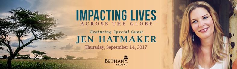 Impacting Lives Across the Globe Banner