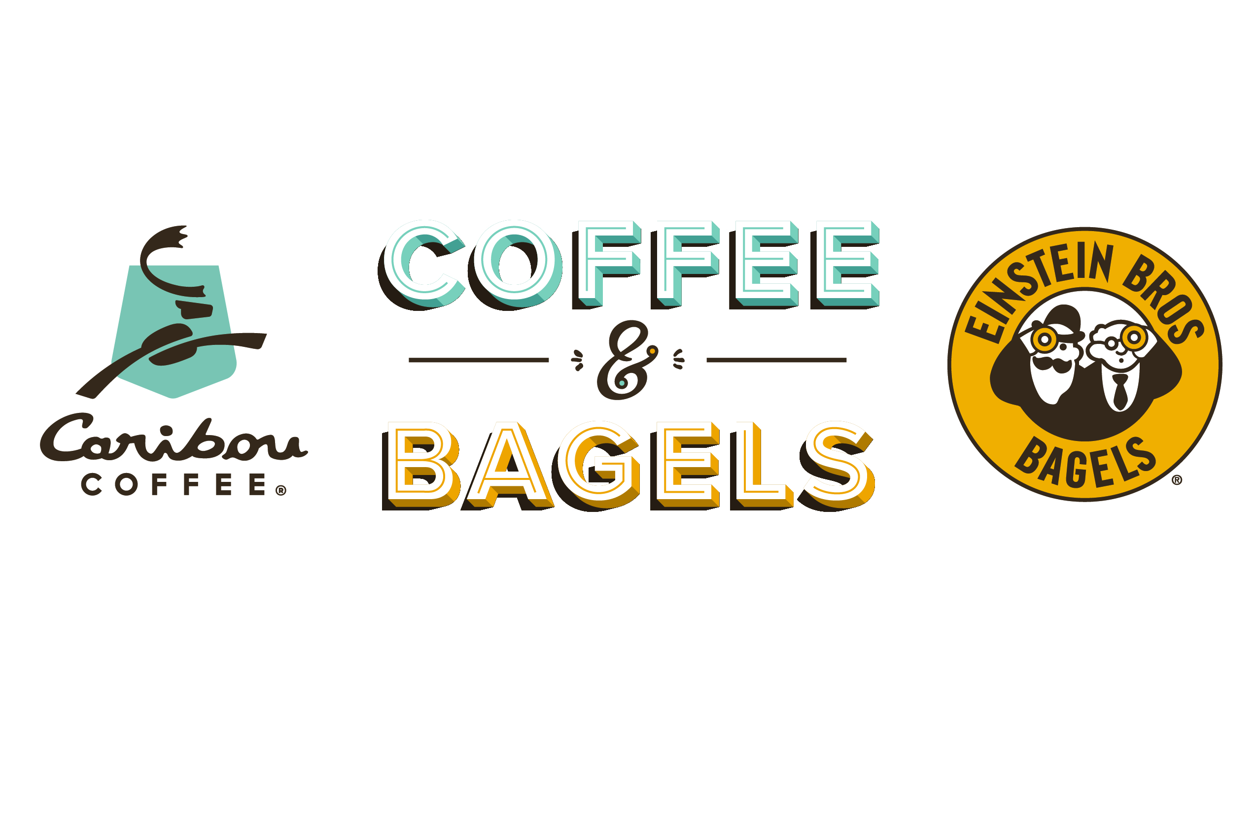 Caribou Coffee & Einstein Brothers Bagels Logo