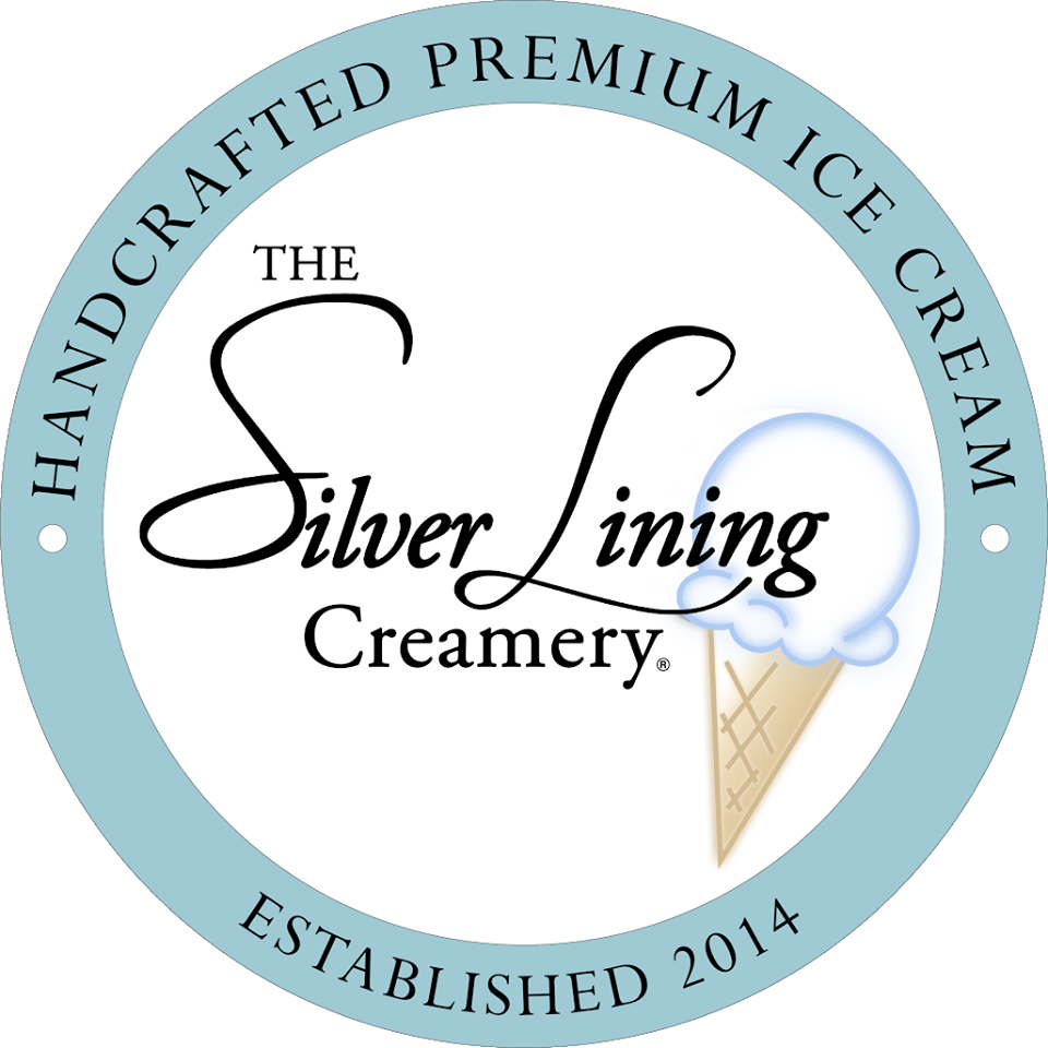 The Silver Lining Creamery Logo